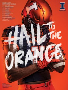 2017 Fighting Illini Football Creative on Inspirationde