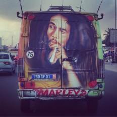 "seguner on Instagram: ""Marley tamam da... #bobmarley #abidjan #cotedivoire #fildisisahili #dolmus"" • Instagram"