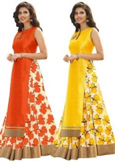Pick Any 1 Semi-Stitched Women's Lehenga Choli By 1 Stop Fashion - HomeShop18.com