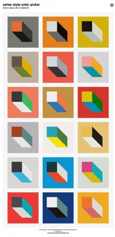 ??????????????????????????????????Swiss Style Color Picker? | I Bleed Design | Pinterest