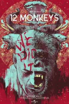 12 Monkeys by Nikita kaun on Inspirationde