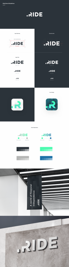 Ride Logo by Ted Kulakevich on Inspirationde