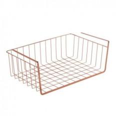 Trouva: Design Ideas DI Lincoln Large Under Shelf Storage Basket Copper
