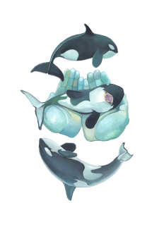 I Dreamt There Were Tiny Orca Whales In My Hands - CELESTE BYERS