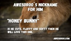 150+ [REALLY] Cute Nicknames for Guys (AWESOME) - Sept. 2017