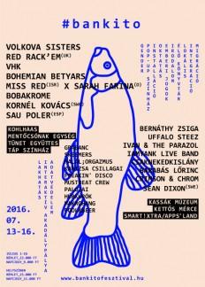'16 Bunker, Cultural & Music Festival 'Poster on Inspirationde