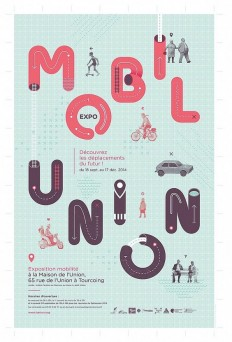MobilUnion Exhibition Poster on Inspirationde