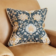 Chinoiserie Tapestry Pillow | Ballard Designs