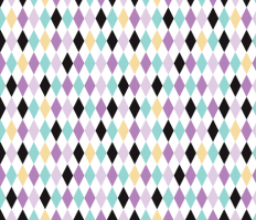Geometric pastel modern diamond scandinavian abstract pattern fabric - littlesmilemakers - Spoonflower
