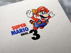 Super Mario Bros 3 Vector Logo - Logowik.com