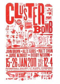 CLUSTERBOMB conquers Patriot Hall, Edinburgh on Inspirationde