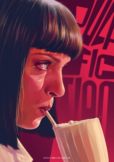 Pulp Fiction by flore Maquin on Inspirationde