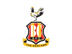 Bradford City FC Vector Logo - Logowik.com