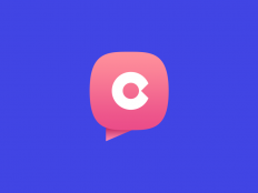 Logo for dating chat Coomeet by Alexandr Bilchenko on Inspirationde