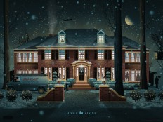 Home Alone Mondo Poster — DKNG