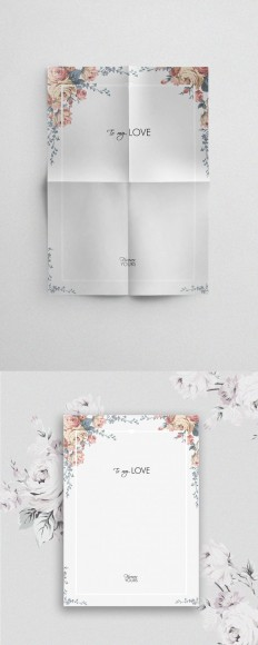 Love Letter Template for Valentine's Day – Downloadable on Inspirationde