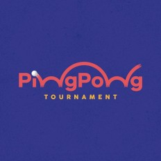 Ping Pong Tournament Logo João Augusto on Inspirationde