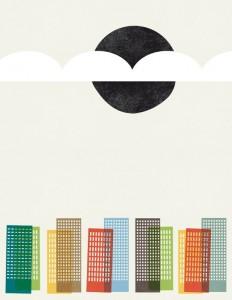 cosas mínimas — City Scape Print