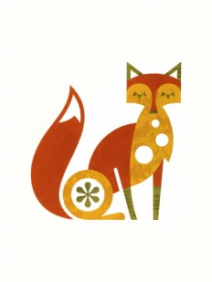 Fox print by Ty Wilkins - Ty Wilkins - Gallery