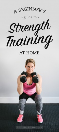 A Beginner's Guide to Strength Training at Home on Inspirationde