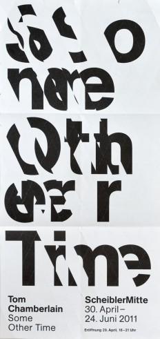 Poster for Scheibler Mitte (+ Identity) on Inspirationde