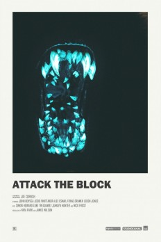 Attack the Block alternative movie poster on Inspirationde