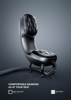Online Banking AD on Inspirationde
