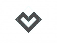 L + Heart Logo by Santiago Barrionuevo on Inspirationde