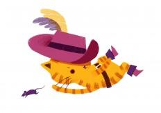 Puss in Boots – Momoko Abe Illustration