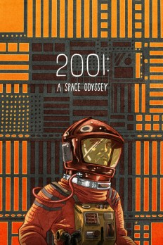 2001: A Space Odyssey Poster on Inspirationde