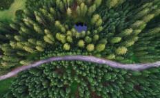1x - Hidden lake by Ales Krivec