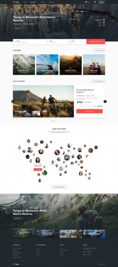 Tripple – Website by Artiom for EL Passion on Inspirationde