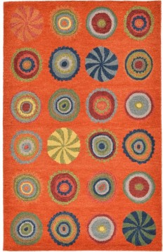 Pop Circles Rug from Inca by Trans Ocean by Liora Manne | PlushRugs.com