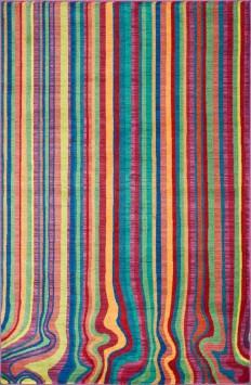 Loloi - Loloi Madeline Mz-08 Multi Stripe Area Rug Clearance #92198