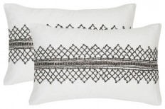 "Safavieh Gossamer Metals Pillow, Set of 2, 12""x20"" - Contemporary - Decorative Pillows - by Safavieh"