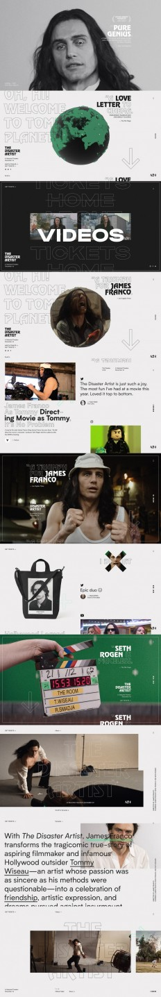 The Disaster Artist on Inspirationde