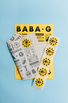 BABA G Branding on Inspirationde