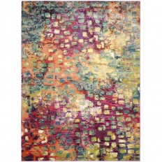 Shop Safavieh Monaco Gogh Pink Indoor Area Rug (Common: 12 x 18; Actual: 12-ft W x 18-ft L) at Lowes.com