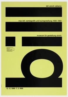 Bill – Max Bill: Werbegrafik und Buchgestaltung 1930-1955, Museum für Gestaltung Zürich, 1998 on Inspirationde
