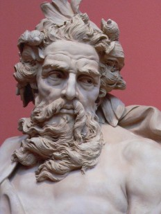 Neptune, 1725 (Los Angeles County Museum of Art) on Inspirationde