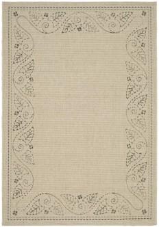 Leaf Scroll Indoor Outdoor Carpet - Safavieh Area Rugs
