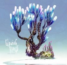 ArtStation - Glowing Plants 01, Heri Irawan