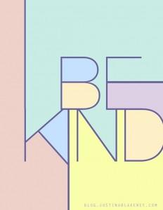 Be Kind on Inspirationde