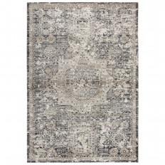 Rizzy Home Panache Gray 9 ft. 10 in. x 12 ft. 6 in. Area Rug-PNCPN697733559116 - The Home Depot