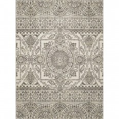 Concord Global Trading New Casa Aubosson Grey 7 ft. 10 in. x 10 ft. 6 in. Area Rug-86357 - The Home Depot