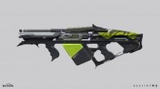 ArtStation - Destiny 2 :Curse of Osiris- The Colony Exotic Grenade Launcher , Dima Goryainov