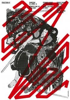 Tengu Soundsystem Poster & flyer, 2015 on Inspirationde