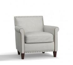 SoMa Roscoe Upholstered Armchair | Pottery Barn