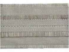 Kravet Couture FRINGED BORDER GREY FROST T30564.11 - Kravet - New York, NY