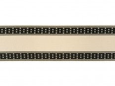 Kravet DOTTY BORDER DOMINO T30736.818 - Kravet - New York, NY